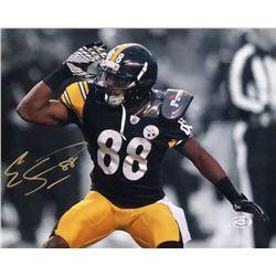 Emmanuel Sanders Signed Pittsburgh Steelers 8x10 Photo (Sports Integrity COA)