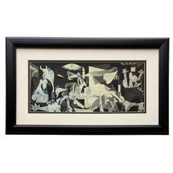 """Pablo Picasso """"Guernica"""" 13x23 Custom Framed Photo Print"""