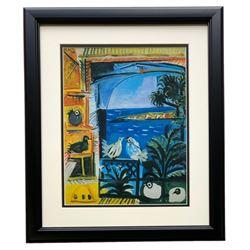 "Pablo Picasso ""The Pigeons"" 18x20 Custom Framed Photo Print"
