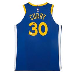 Stephen Curry Signed Golden State Warriors Jersey (UDA COA)