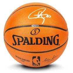 Stephen Curry Signed Official NBA Game Ball Basketball (UDA COA)