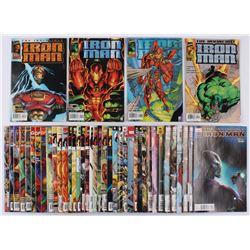"Lot of (42) 1996-2008 ""Iron Man"" 1st Series Marvel Comic Books"