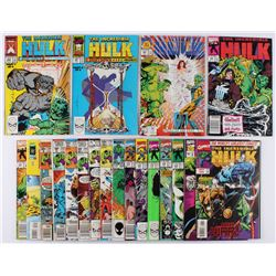 "Lot of (29) 1976-1997 ""The Incredible Hulk"" 1st Series Marvel Comic Books"
