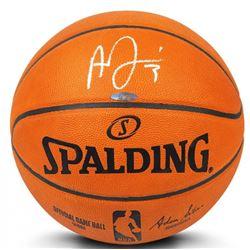 Anthony Davis Signed Official NBA Game Ball Basketball (UDA COA)