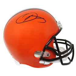 Odell Beckham Jr. Signed Cleveland Browns Full-Size Helmet (Schwartz Sports COA)