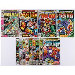 "Lot of (13) 1968 ""Iron Man"" 1st Series Marvel Comic Books"