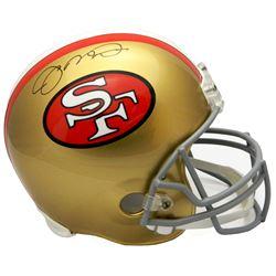 Joe Montana Signed San Francisco 49ers Full-Size Helmet (Schwartz Sports COA)