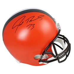 Joe Thomas Signed Cleveland Browns Full-Size Helmet (Schwartz Sports COA)