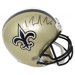 Michael Thomas Signed New Orleans Saints Full-Size Helmet (Schwartz COA)