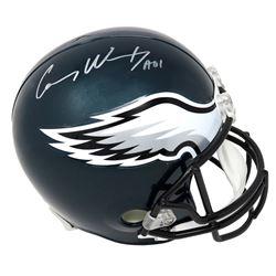"Carson Wentz Signed Philadelphia Eagles Full-Size Helmet Inscribed ""AO1"" (Fanatics Hologram)"