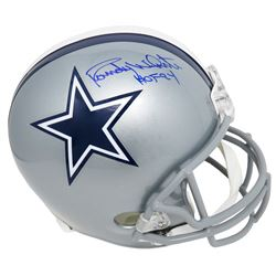 "Randy White Signed Dallas Cowboys Full-Size Helmet Inscribed ""HOF 94"" (Schwartz Sports COA)"