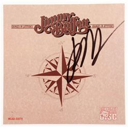 """Jimmy Buffet Signed """"Changes in Latitudes, Changes in Attitudes"""" CD Album Booklet (JSA COA)"""
