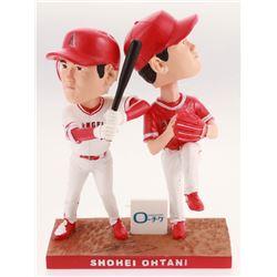 "Shohei Ohtani Signed Los Angeles Angels 8"" Bobbleheads (PSA COA)"