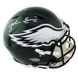 Zach Ertz Signed Philadelphia Eagles Full-Size Authentic On-Field Speed Helmet (Radtke COA)