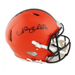 Nick Chubb Signed Cleveland Browns Full-Size Authentic On-Field Speed Helmet (Radtke COA)