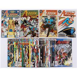 "Lot of (39) 1988-2009 ""Superman"" Action Comics DC Comic Books"