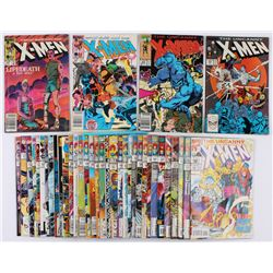 "Lot of (38) 1984-1999 ""The Uncanny X-Men"" 1st Series Marvel Comic Books"