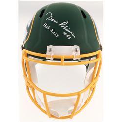 "Dave Robinson Signed Green Bay Packers AMP Alternate Speed Full Size Helmet Inscribed ""HOF 2013"" (Be"