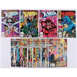 "Lot of (35) 1989-1994 ""The Uncanny X-Men"" 1st Series Marvel Comic Books"