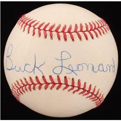 Buck Leonard Signed ONL Baseball (Beckett COA)