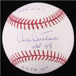 Don Sutton Signed OML Baseball With (3) Inscriptions (Beckett COA)