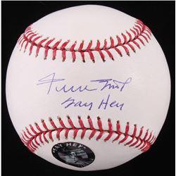 "Willie Mays Signed OML Baseball Iinscribed ""Say Hey"" (Mays Hologram  JSA COA)"