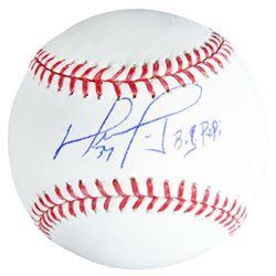 "David Ortiz Signed Baseball Inscribed ""Big Papi"" (Fanatics Hologram)"