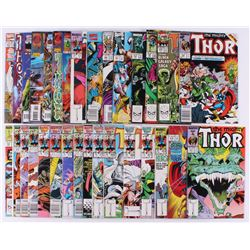 """Lot of (31) 1986-96 """"The Mighty Thor"""" #363-#502 Marvel Comic Books"""