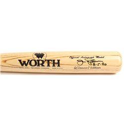 "Jim Palmer Signed Worth Autograph Model Baseball Bat Inscribed ""8-5-90"" (Beckett COA)"