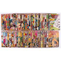 "Lot of (63) 1957-69 ""World's Finest"" DC Comic Books"