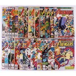"""Lot of (27) 1972-81 """"The Avengers"""" Marvel Comic Books"""