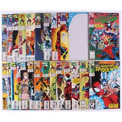 """Lot of (25) 1993-95 """"The Amazing Spider-Man"""" #376-400 Marvel Comic Books"""