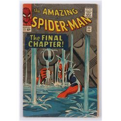 """1963 """"The Amazing Spider-Man"""" Issue #33 Marvel Comic Book"""