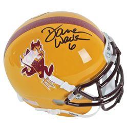 Darren Woodson Signed Arizona State Sun Devils Mini Helmet (Beckett COA)