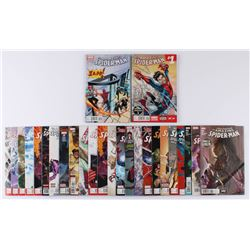 """Lot of (26) 2014-2017 """"The Amazing Spider-Man"""" #1-#32 Marvel Comic Books"""