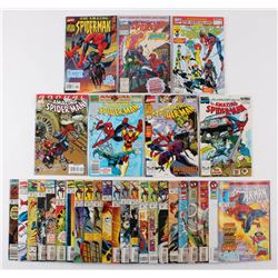 """Lot of (30) 1990-97 """"The Amazing Spider-Man"""" #333-#425 Marvel Comic Books"""