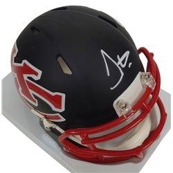 Tyreek Hill Signed Kansas City Chiefs AMP Alternate Speed Mini Helmet (JSA COA)