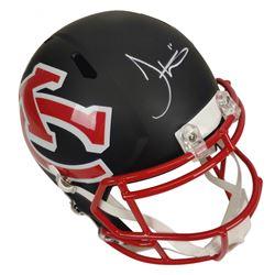 Tyreek Hill Signed Kansas City Chiefs AMP Alternate Speed Full Size Helmet (JSA COA)