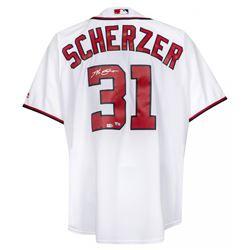 Max Scherzer Signed Washington Nationals Jersey (Fanatics Hologram)