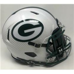 Green Bay Packers Custom Hydro Dipped Full-Size Authentic On-Field Speed Helmet