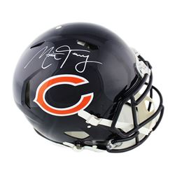 Mitchell Trubisky Signed Chicago Bears Full-Size Authentic On-Field Speed Helmet (Fanatics Hologram)