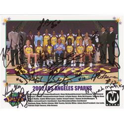 2002 Los Angeles Sparks 8x10 Photo Team-Signed by (15) with Nicky McCrimmon, Delisha Milton, Tamecka