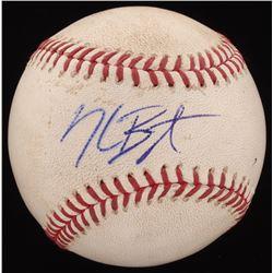 Kris Bryant Signed 2015 Game-Used OML Baseball Inscribed (JSA COA  MLB Hologram)
