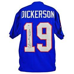 "Eric Dickerson Signed Jersey Inscribed ""Pony Express"" (Beckett COA)"