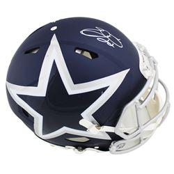 Emmitt Smith Signed Dallas Cowboys Full-Size Authentic On-Field Speed AMP Helmet (Prova COA)