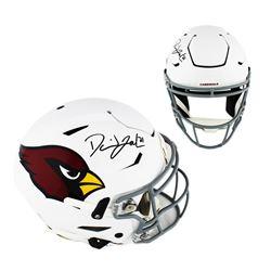 David Johnson Signed Arizona Cardinals Full-Size Authentic On-Field SpeedFlex Helmet (Radtke COA)