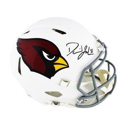 David Johnson Signed Arizona Cardinals Full-Size Authentic On-Field Speed Helmet (Radtke COA)
