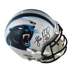 Luke Kuechly Signed Carolina Panthers Full-Size Authentic On-Field Speed Helmet (Radtke COA)