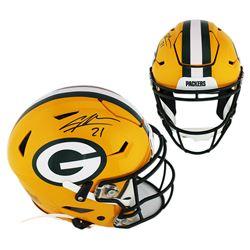 Charles Woodson Signed Green Bay Packers Full-Size Authentic On-Field SpeedFlex Helmet (Radtke COA)