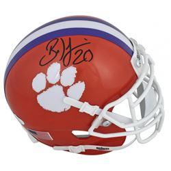 Brian Dawkins Signed Clemson Tigers Mini Helmet (JSA COA)